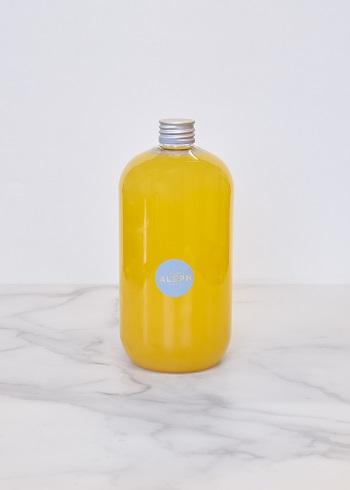 boisson à base de mandarine de sicile